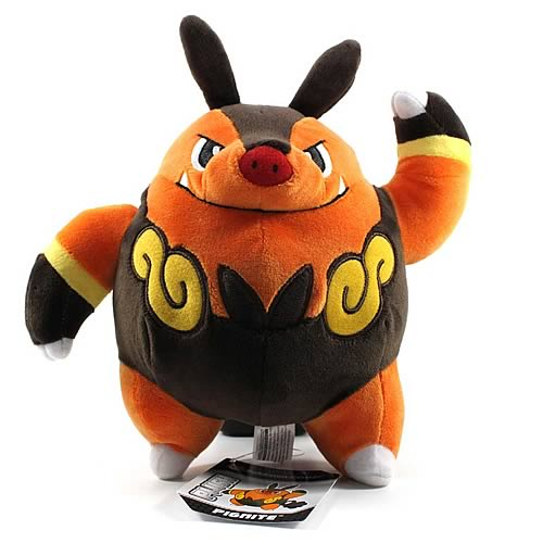 Pokemon Center Black and White Pignite Plush