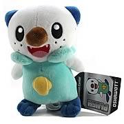 Pokemon Center Black and White Oshawott Plush
