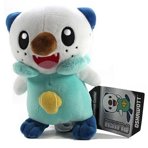 Pokemon Center Black and White Oshawott Plush