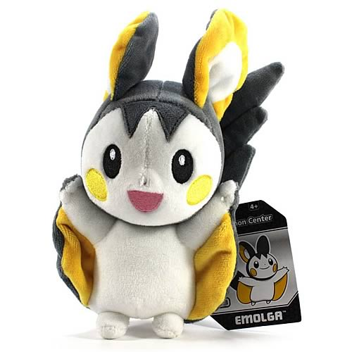Pokemon Center Black and White Emolga Plush