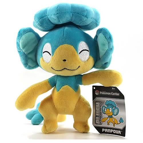 Pokemon Center Black and White Panpour Plush