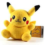 Pokemon Center Black and White Pikachu Plush