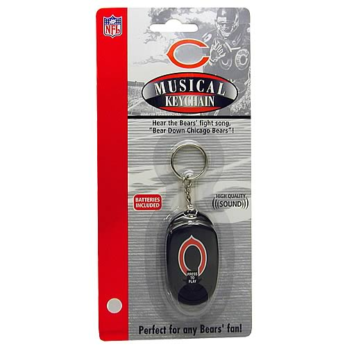 Chicago Bears Musical Keychain