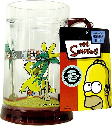 Homer Simpson Freezer Mug