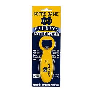 Notre Dame Talking Bottle Opener