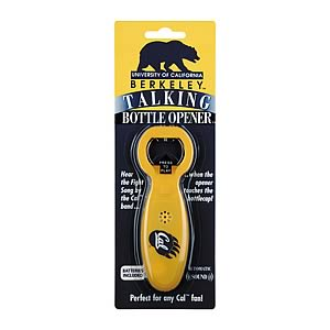 UC Berkeley Talking Bottle Opener
