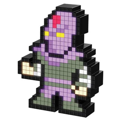 Pixel Pals TMNT Foot Soldier Collectible Lighted