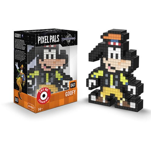 Pixel Pals Kingdom Hearts Goofy Collectible Lighted Figure