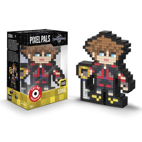 Pixel Pals Kingdom Hearts Sora Collectible Lighted Figure