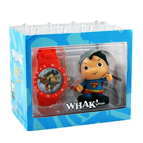 Superman DC Comics Little Mates Whak! Watch and Mini-Figure