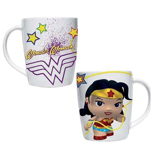 Wonder Woman DC Comics Little Mates White Porcelain Mug