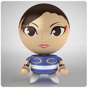 Street Fighter Series 3 Chun-Li Bobble Budd Bobble Head