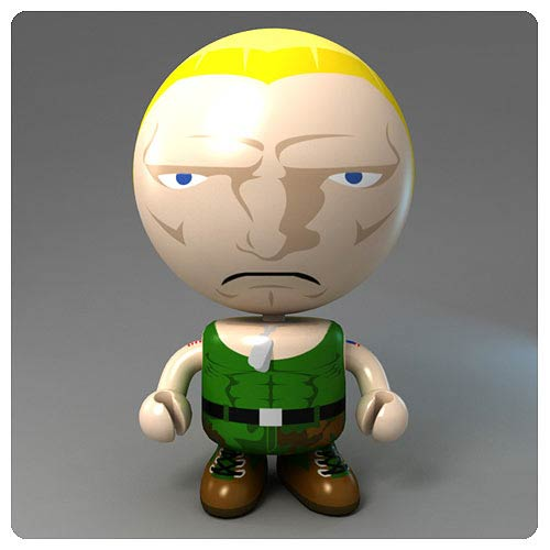 Street Fighter Round 2 Guile Bobble Budd Bobble Head
