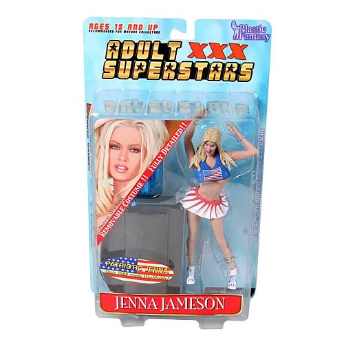 Patriotic Jenna Jameson Action Figure