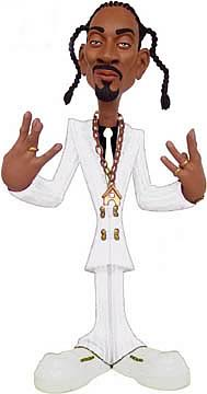 Exclusive 9 inch Snoop Dogg White