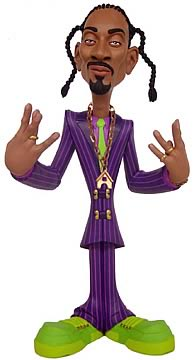 9 inch Snoop Dogg - Purple