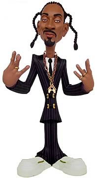 9 inch Snoop Dogg Black & White