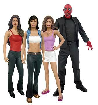 Charmed Figures Series 1 Complete Set