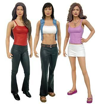 Charmed Figures Power of Three Set