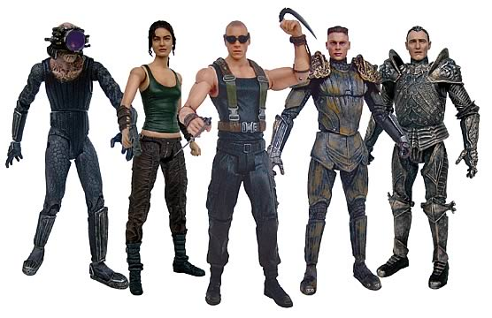 Chronicles of Riddick Action Figure Set