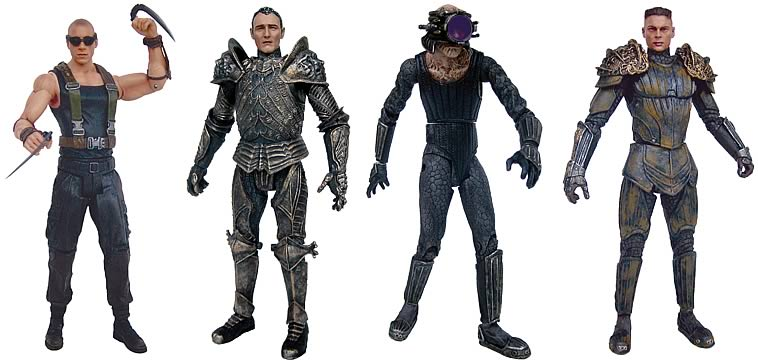 Chronicles of Riddick Action Figure 4-Pack