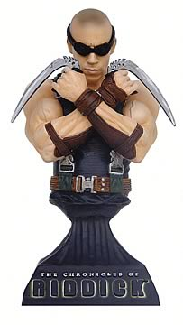 Chronicles of Riddick Mini Bust