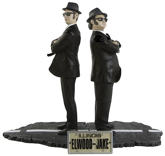 Toys For Brothers : The blues brothers action figure set sd toys