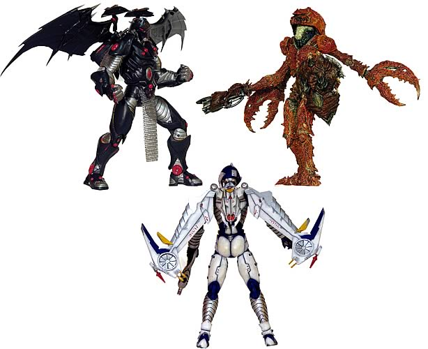 Micronauts Series 1 Action Figure Set