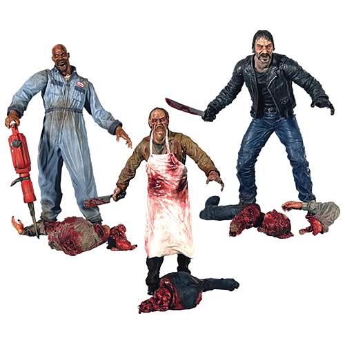 Land of the Dead Action Figures Wave 1 Set