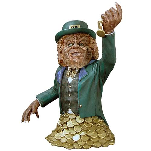 Now Playing Leprechaun Statue