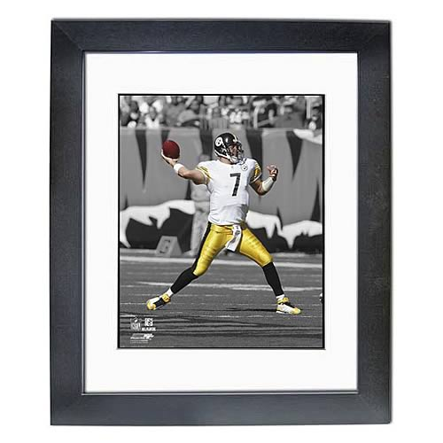 NFL Ben Roethlisberger Spotlight Collection Framed Photo