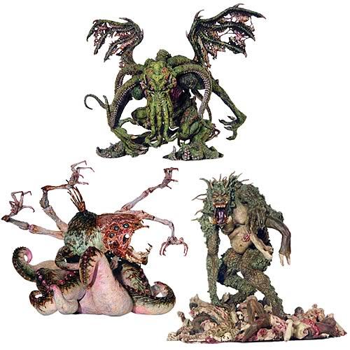 Nightmares of H.P. Lovecraft Action Figure Set