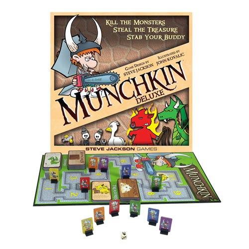 Munchkin Deluxe Game