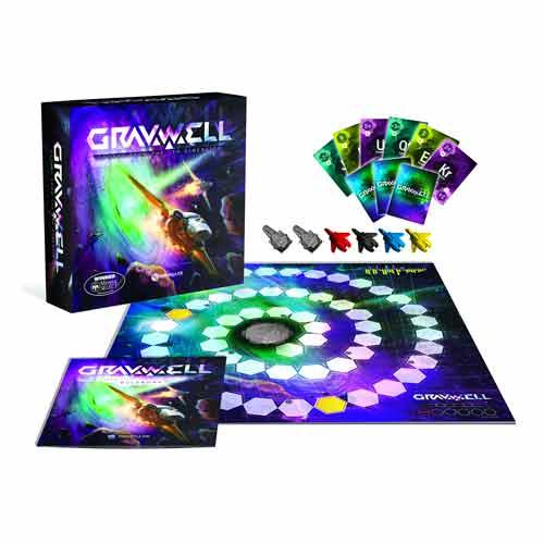Gravwell Escape From the 9th Dimension Board
