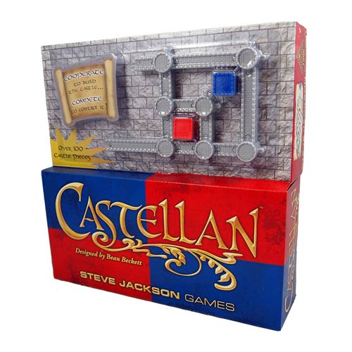 Castellan Blue and Red Game