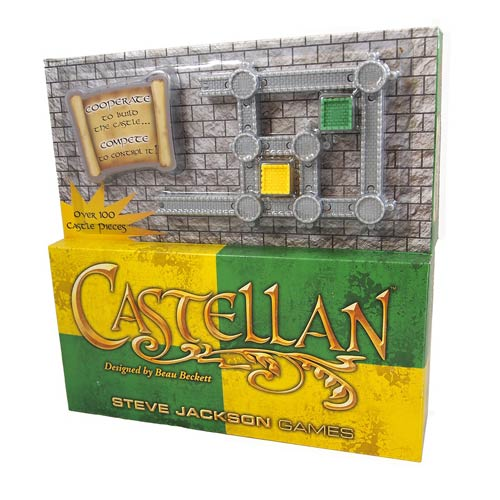 Castellan Yellow and Green Multilingual Game