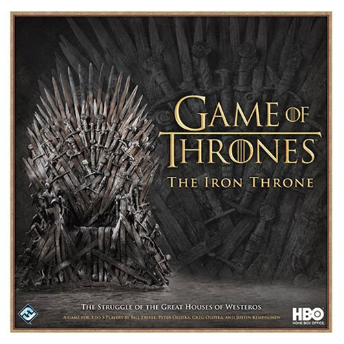Game of Thrones: The Iron Throne Board Game