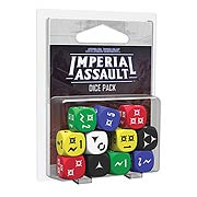 Star Wars Imperial Assault Game Dice Pack