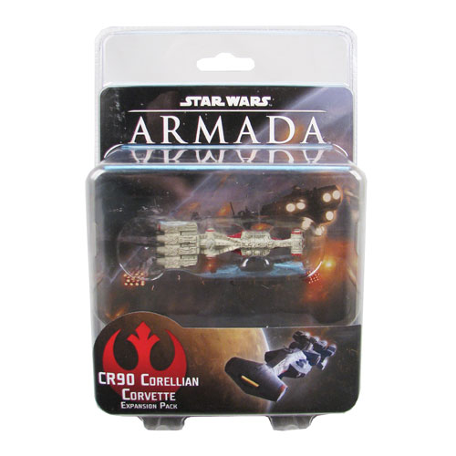 Star Wars Armada Game CR90 Corellian Corvette Expansion Pack