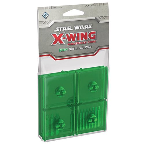 Star Wars: X-Wing Game Green Bases and Pegs Expansion Pack