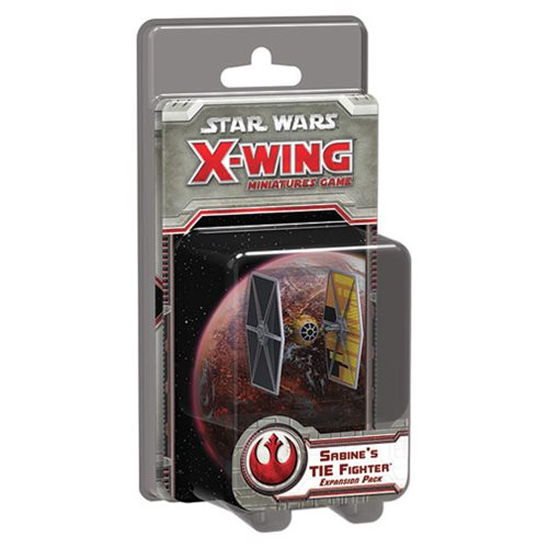 Star Wars: X-Wing Game Sabine's TIE Fighter Expansion Pack