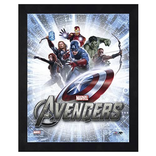 Avengers Movie Assembled Image 2 Large Framed Photo