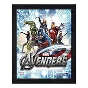 Avengers Movie Assembled Image 1 Large Framed Photo