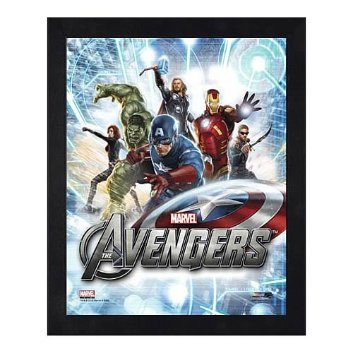 Avengers Movie Assembled Image 1 Large Framed Photo