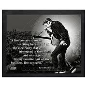 Elvis Presley ProQuote Live Concert Framed Photo