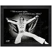 Elvis Presley Adios Framed Photo