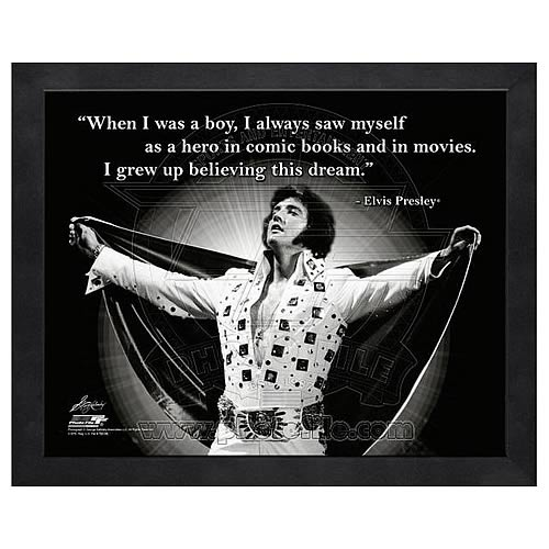 Elvis Presley ProQuote Hero Framed Photo