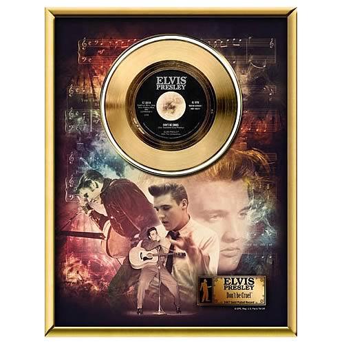 Elvis Presley Don't Be Cruel 45 rpm Gold Record