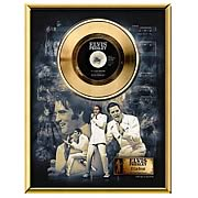 Elvis Presley If I Can Dream 45 rpm Gold Record