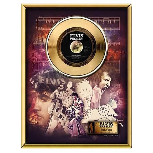 Elvis Presley Viva Las Vegas 45 rpm Gold Record
